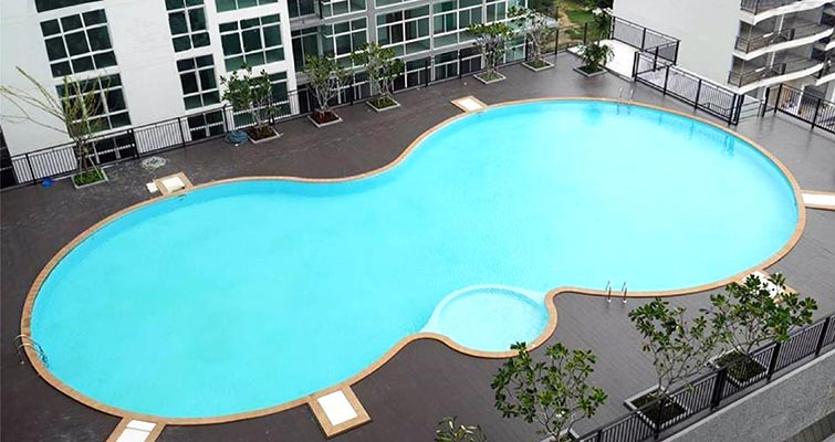 5. Le Breeze Jomtien pool 2