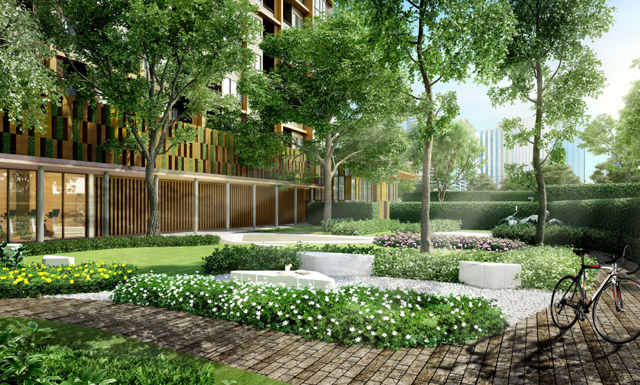 Ariva-Ratchada-Serviced-Residences--Garden