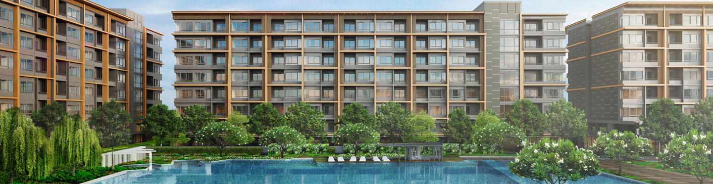 Ariva Ratchada Serviced Residences Facade 2